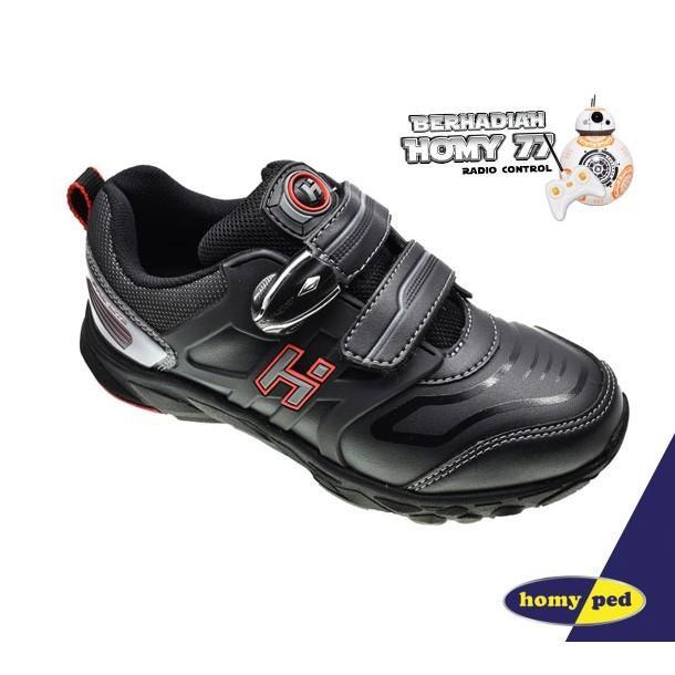 HOMYPED ZEPPELIN 02 Sepatu Anak Black