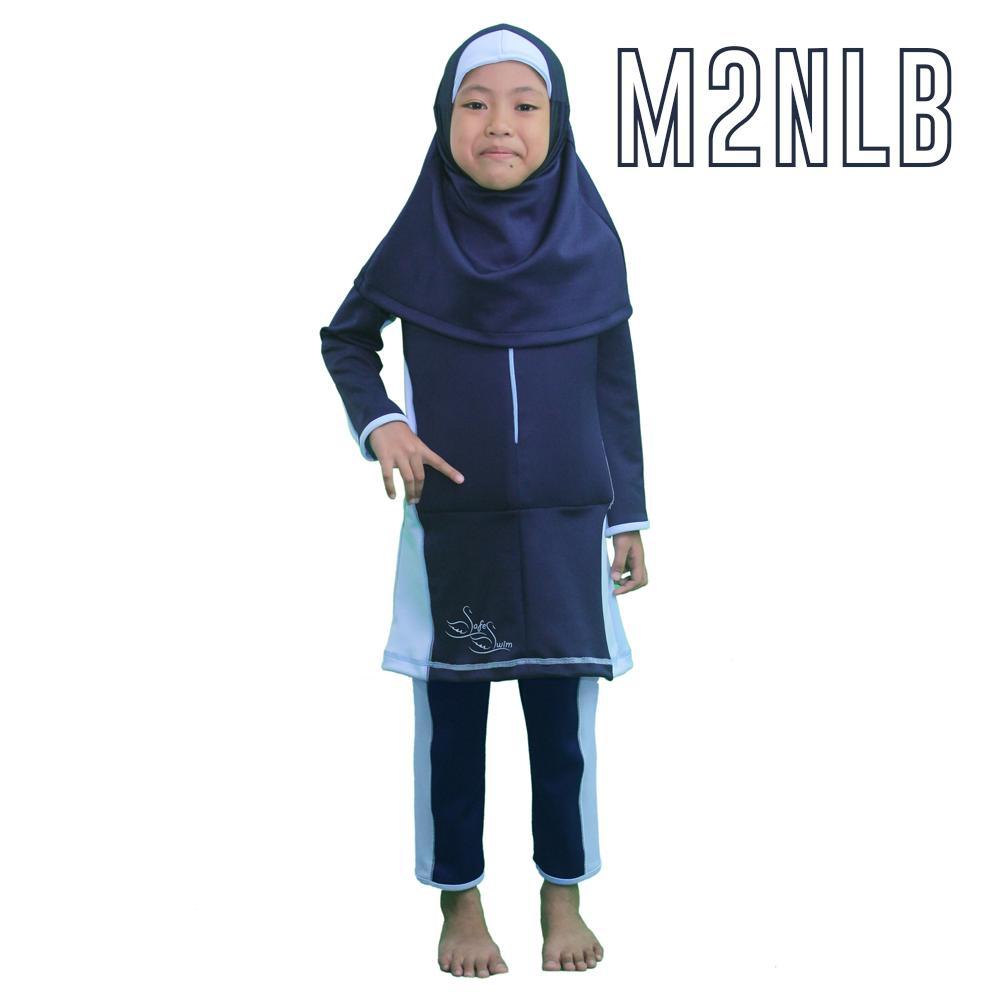 New Arrival Safe Swim Discount - Baju Renang Anak Mengapung - Renang Pelampung Muslimah - Model 2 Muslimah