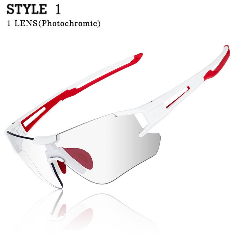 ROCKBROS Polarized Cycling Glasses Bike Bicycle Glasses Sports Men's Sunglasses MTB Road Cycling Eyewear Protection Goggles
