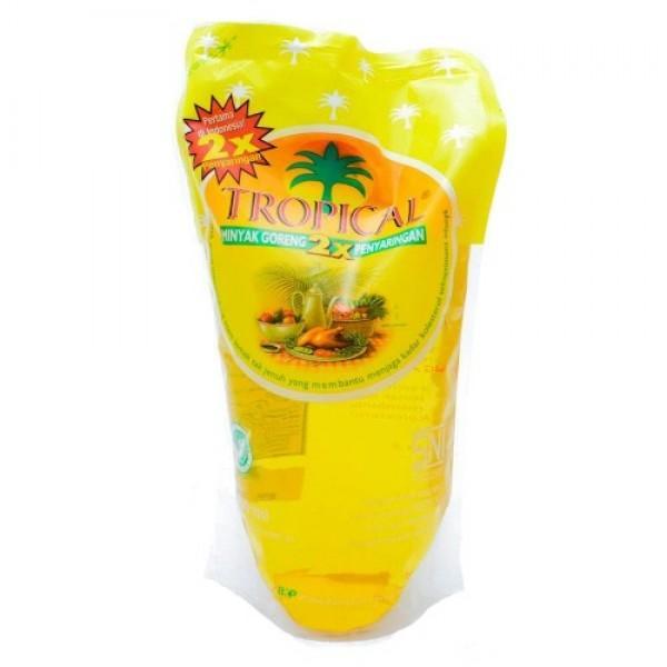 Minyak Goreng Tropikal Refill Pouch 1 Liter