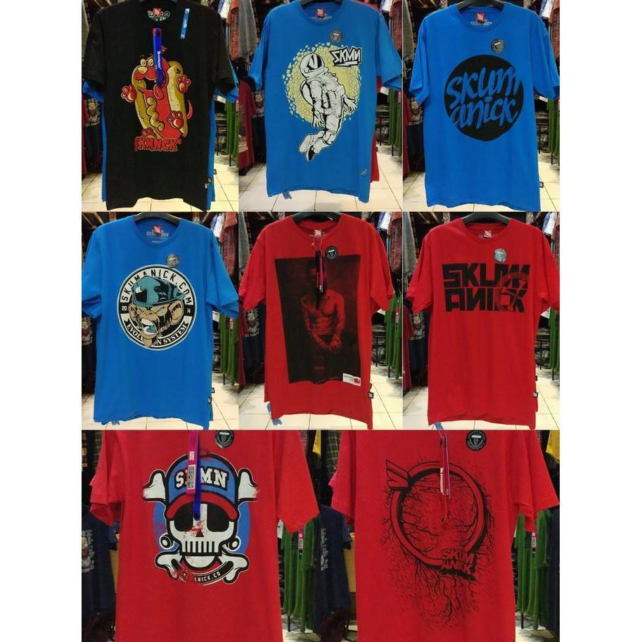 Grosir Skumanick Original - Kaos Distro Bandung - Free Gelang Keren - Sale Promo!!