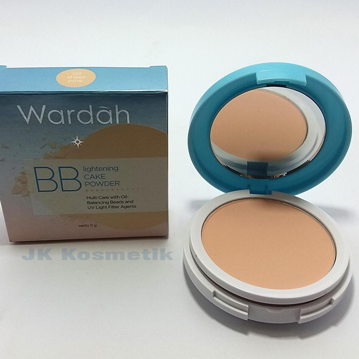Cek Harga Baru Wardah Lightening Bb Cake Powder 01 Light Terkini Twc Exclusive Bedak Padat Recommended 02 Sheer Pink