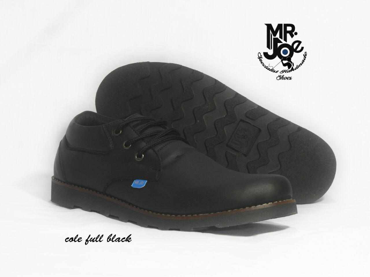 Promo sepatu boots pendek orihinal mr joe cole series semi formal kerja Fashion murah