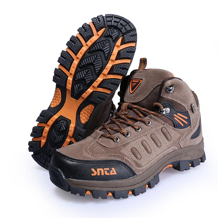Sepatu Snta 467 Brown Orange Hiking/Outdoor/Trekking - uJrxrI