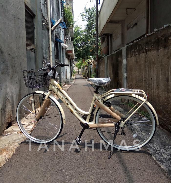 Sepeda City Bike Polygon 26 SIERRA LITE - 55Gn9a