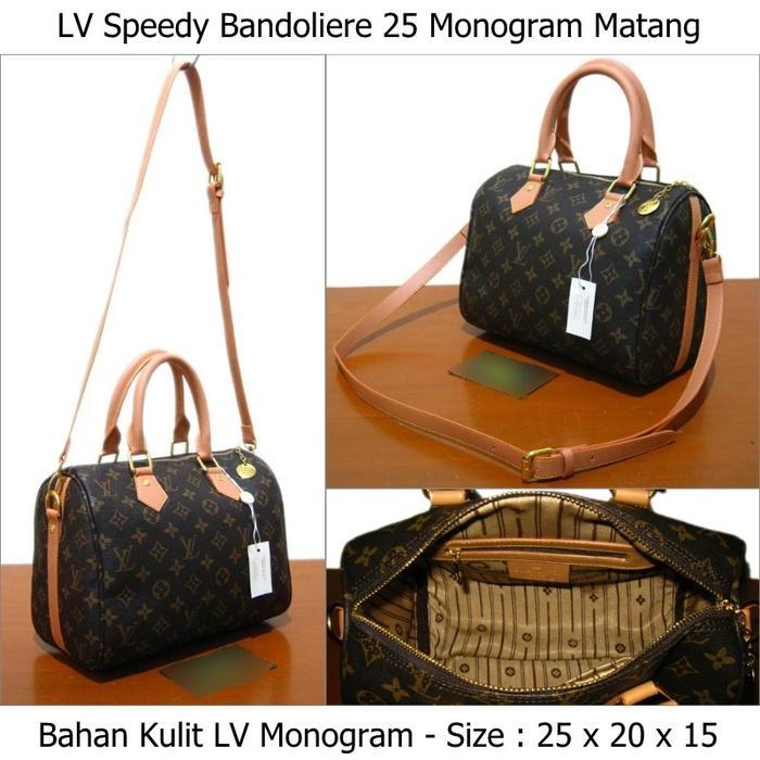 Produk terlaris tas Louis Vuitton LV Monogram murah untuk perempuan - p2DeEx