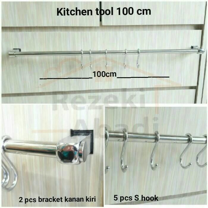 Kitchen Tool / Gantungan Kuali / 100cm / Gantungan Panci