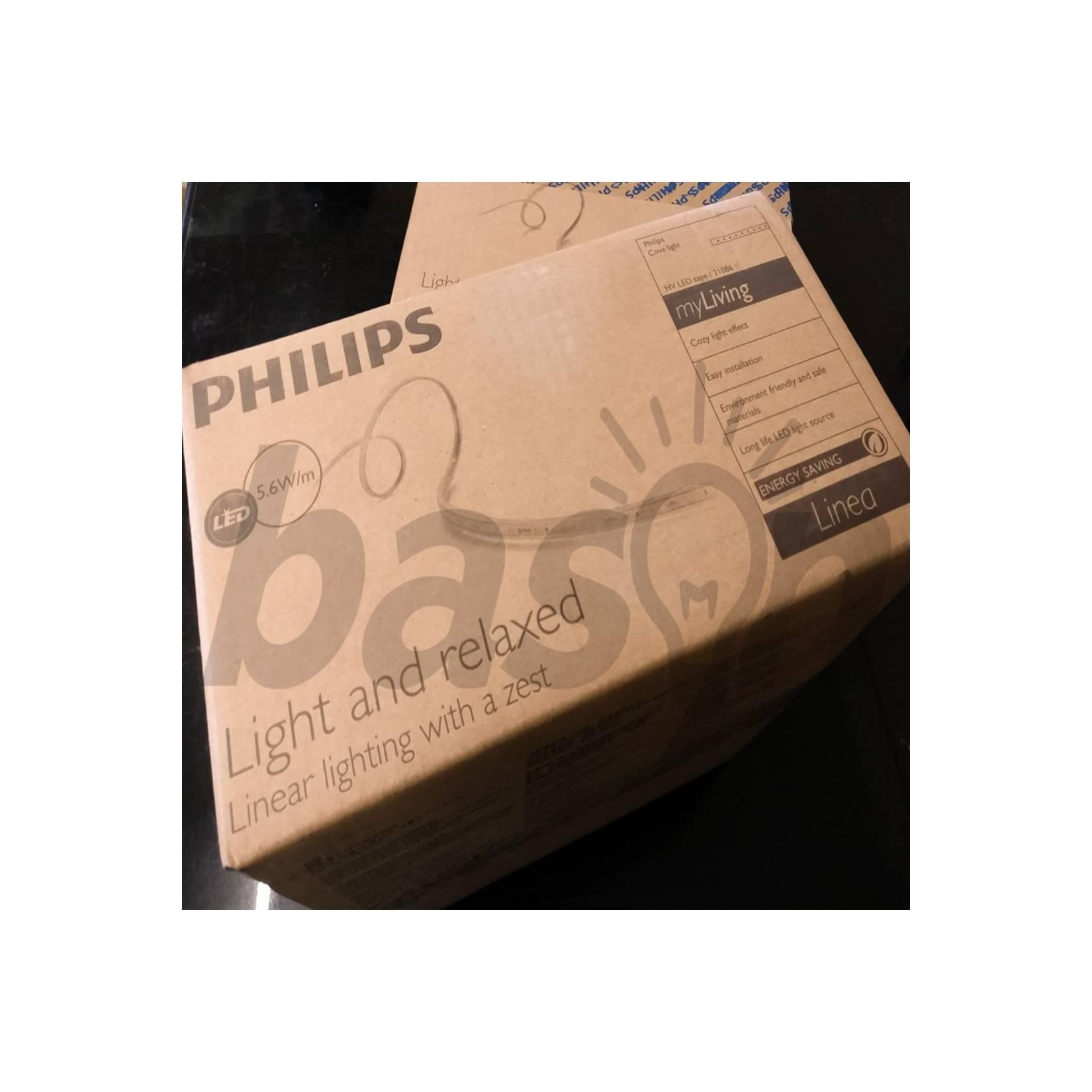 PHILIPS LED Strip DLI 31086 LED Tape High Voltage 50Meter 5.6w/m LL - Warm White