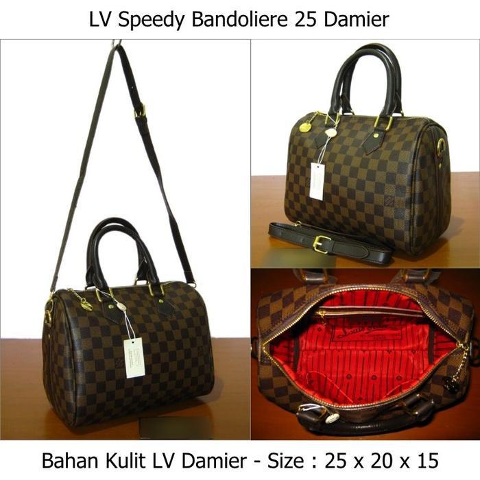 Toko online jual tas Louis Vuitton LV Damier murah untuk wanita - geEVLX