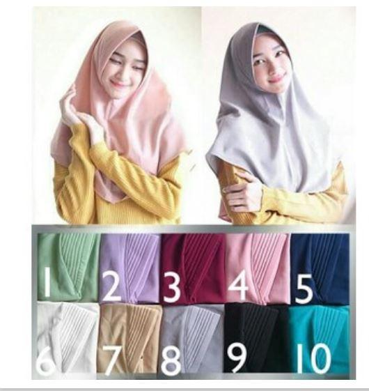 Mysha Hijab Ciput Bandana Mix 3 Warna Random Get 3 pcs Source Mysha . Source ·