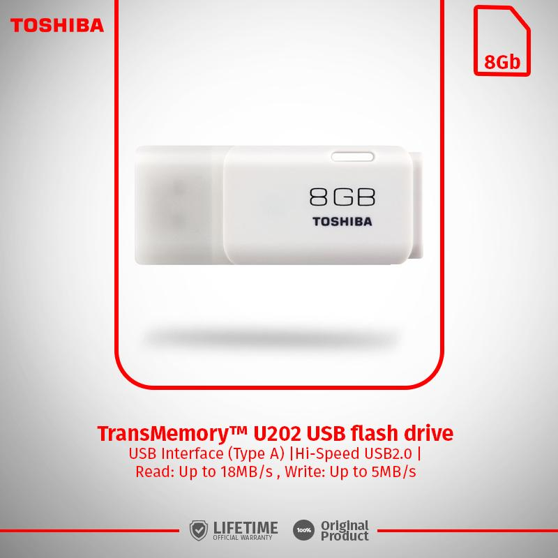 Toshiba Hayabusha USB Flash Drive 8GB