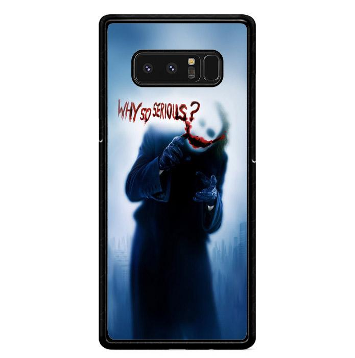 Batman Joker Why So Serious X4818 Samsung Galaxy Note 8 Custom Case