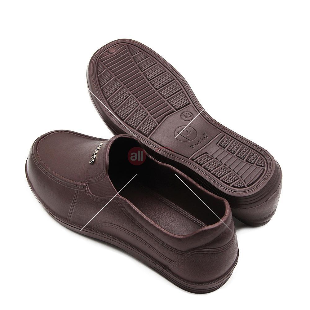 Gambar Produk Rinci Porto Sepatu Sandal Slip On Pria 1003 M Size 40-44 Terkini