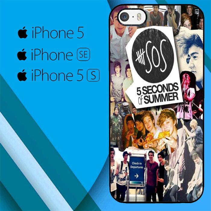 5 Second Of Summer Colleges 2 O3419 iPhone 5|5S|SE Case