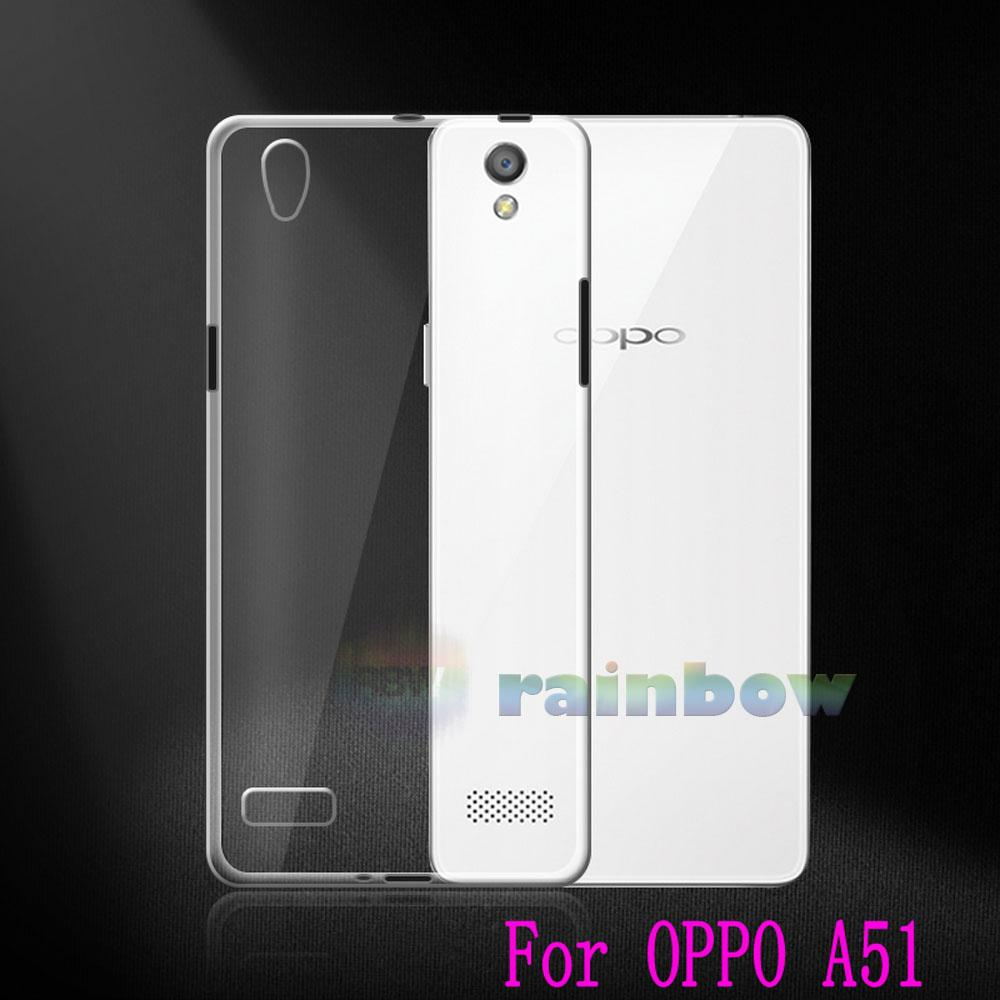 Rainbow Ultrathin Soft Case Oppo A51W  Mirror 5 Clear / Silicon Case Oppo Mirror 5 / Ultrathin Oppo A51  Mirror5 / Silikon Oppo Mirror5 / Jelly Case Oppo A51 Mirror 5 / Case Unik / Silicone Casing Oppo A51W  Miror 5 - Bening