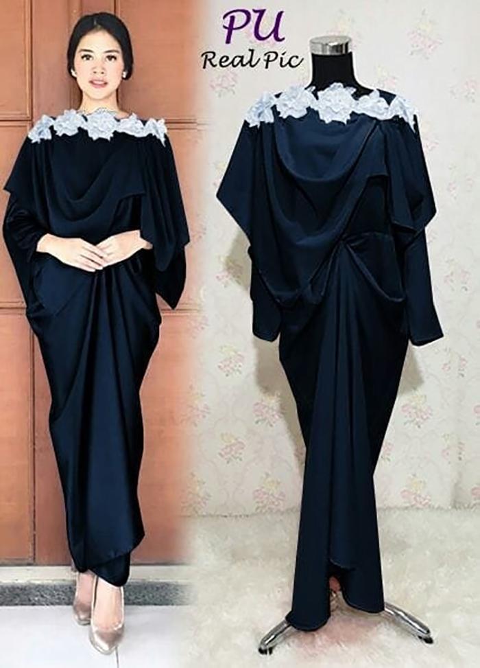 MAXI PRINSA Long Dress Maxmara GAMIS semi KAFTAN Baju Busui Muslim