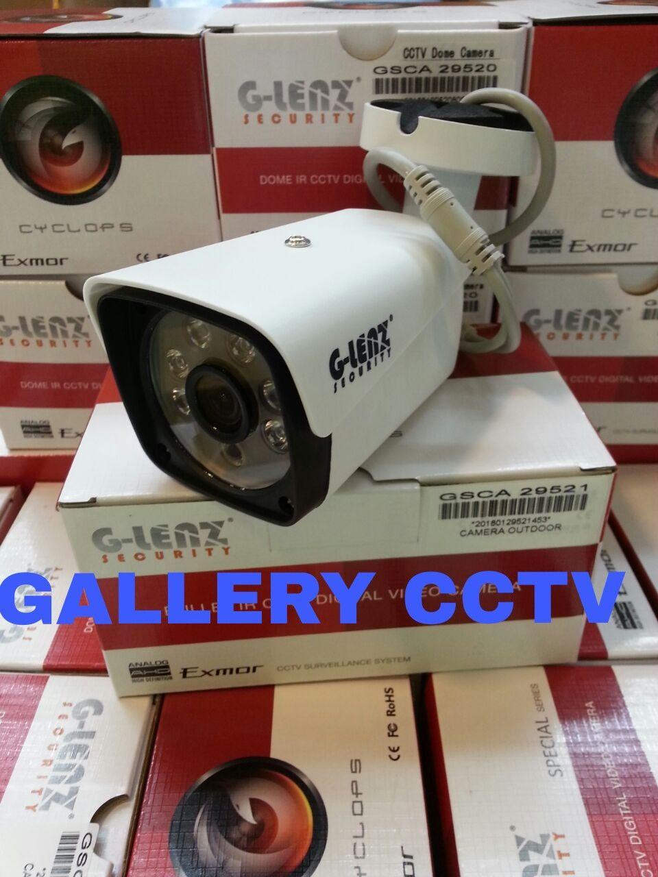 kamera cctv glenz 2.0mp 1080p outdoor ic sony exmor