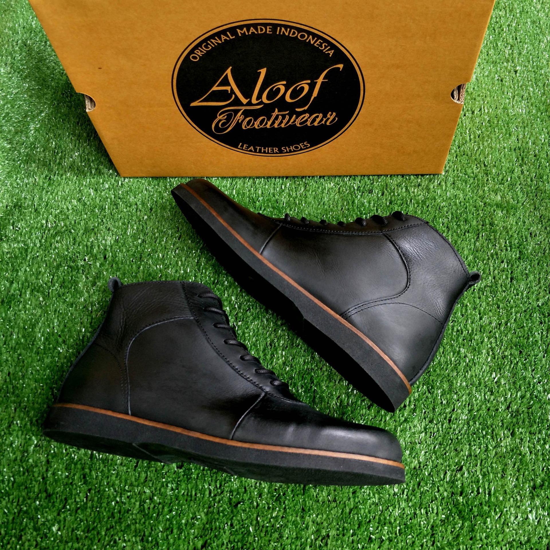 Cek Harga Baru Headway Footwear 22 Glory Black Sepatu Handmade Prodigo Komodo Aloof Care Boots Kulit Asli Pria Original