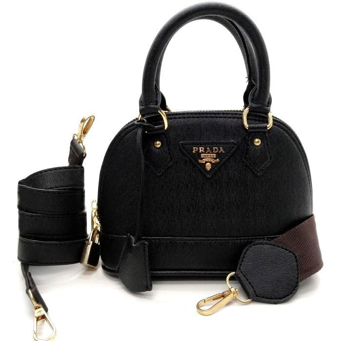 468852843a176d ... clearance detail gambar tas prada double strap tasimport tas wanita  import handbag selempang 8mk2pt terbaru 9b60c