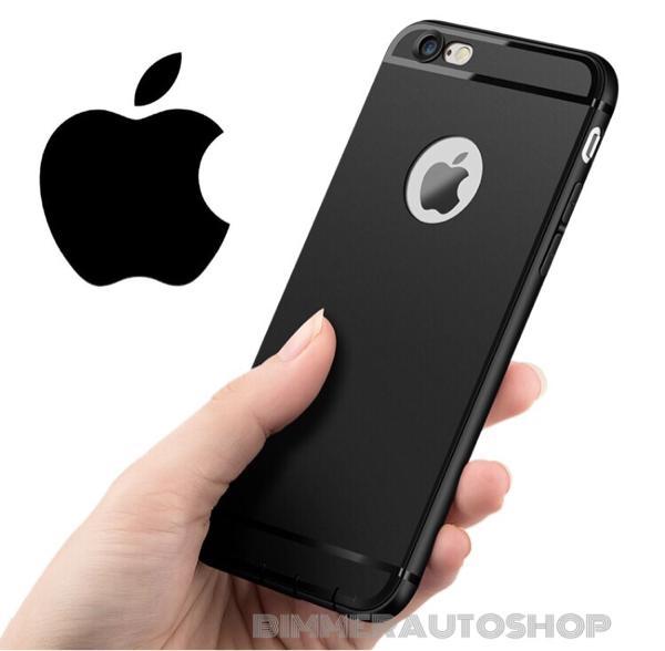 Slim Silicon Iphone 6+/ 6 Plus Softcase Case Casing Karet Soft Silikon - HITAM
