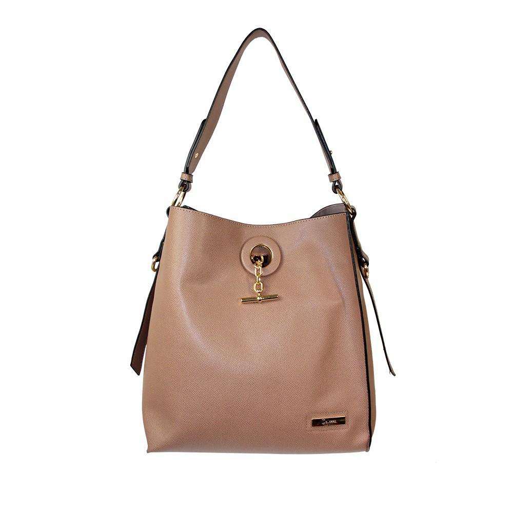 Bellezza MS-E230 Woman Shoulder Bag - Khaki