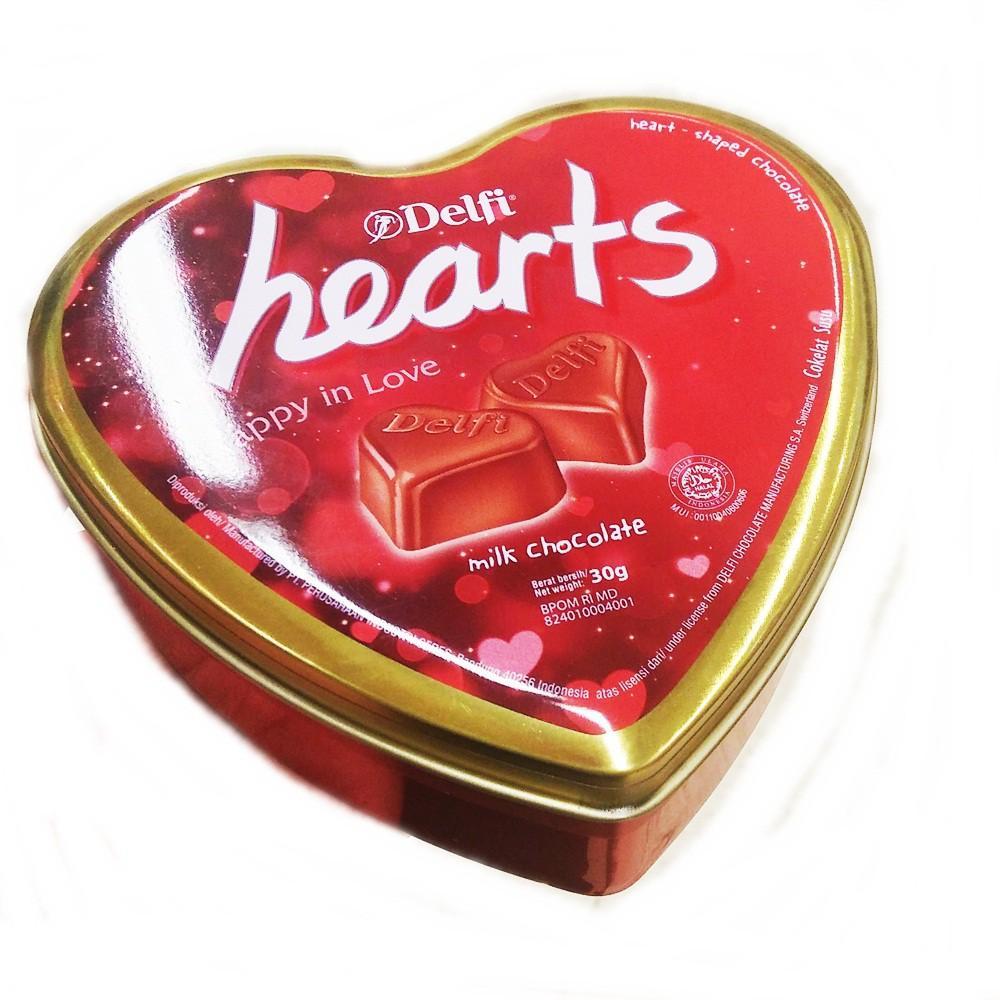 Fitur Delfi Chacha Milk Kiloan Dan Harga Terbaru Daftar Chocolate Hearts Happy In Love Cokelat Valentine