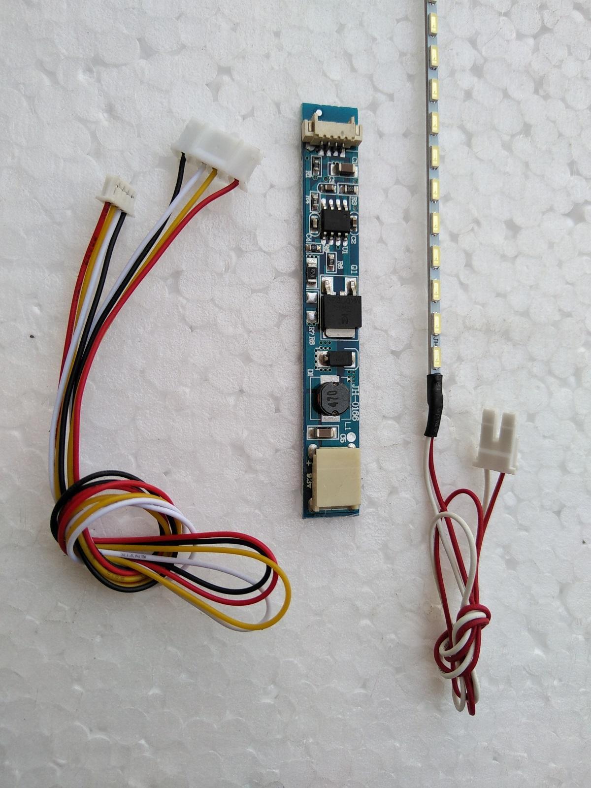 Inverter Lampu LED Backlight Layar Panel Laptop Monitor TV Ganti LCD CCFL Neon 10 Sampai 17 Inch 380 Mm 4014 X 63 CA 166 Isi 3