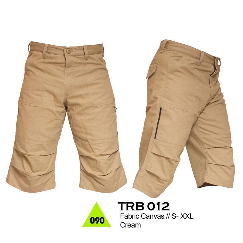 Trekking TRB 012 Celana Gunung - bahan canvas - Bagus & berkualitas (cream)
