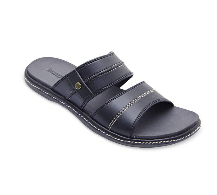 Homyped Norton 02 Sandal Casual Pria - Black