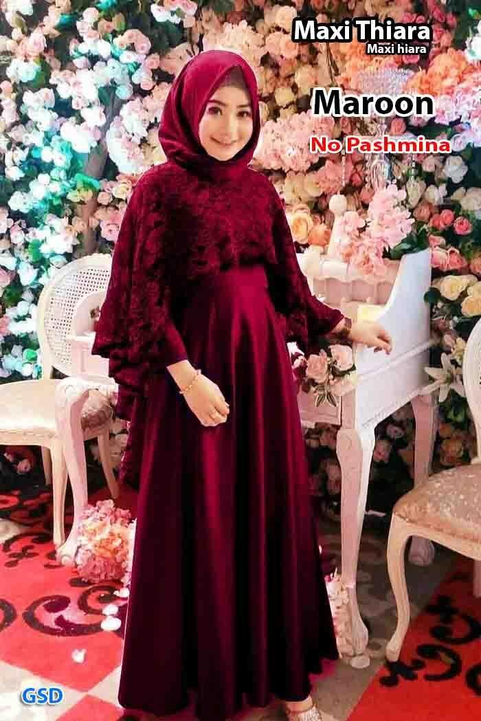 GSD-Baju Muslim / Baju Kurung Wanita / Dress Muslim / Baju Gamis / Gamis Batik / Maxi Dress Hiara
