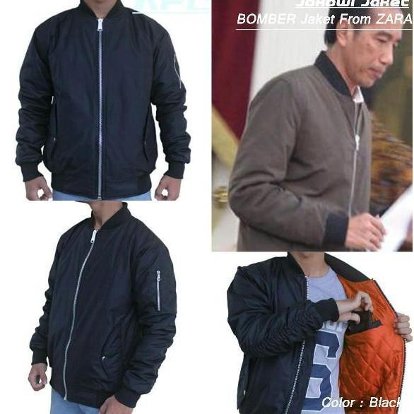 Jaket Jokowi/ Jaket Bomber From Zara/ Jaket Scote/Jaket Tactical Auri - Asgfgh