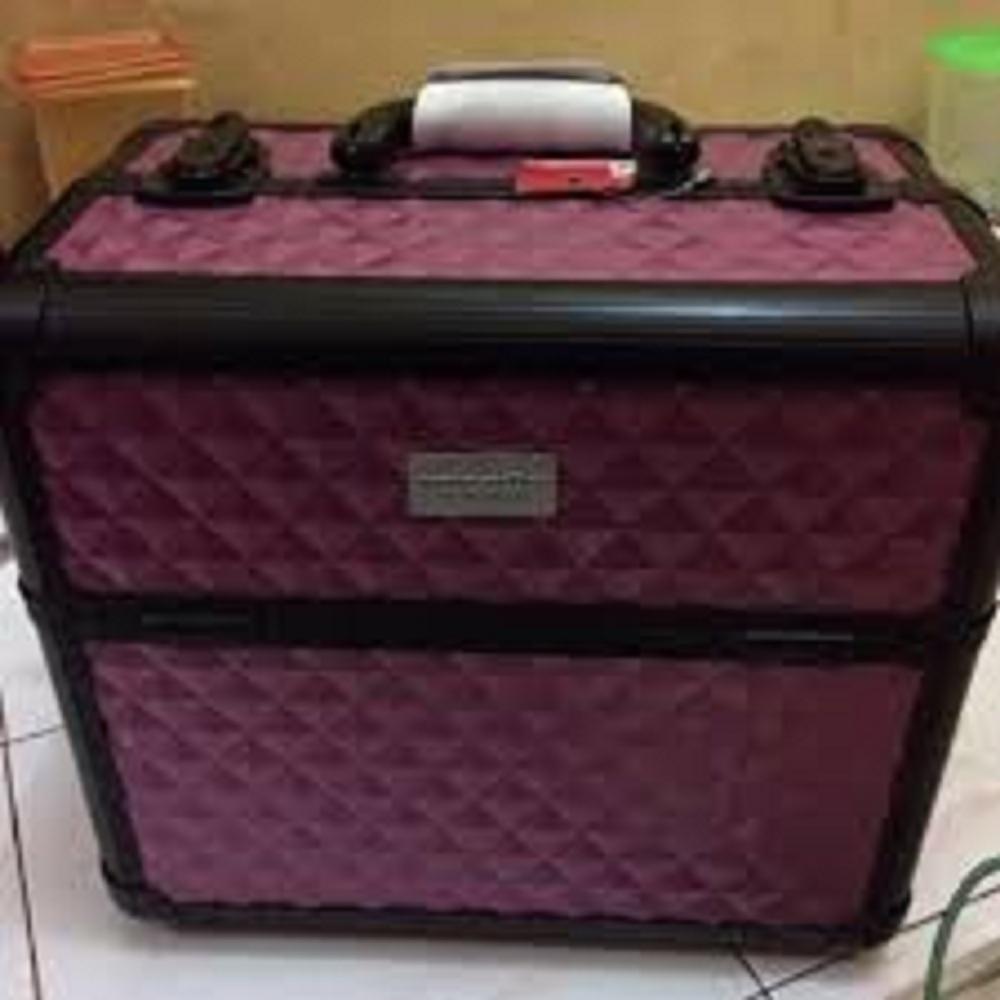 beauty case sonia miller red koper make up murah dan baru