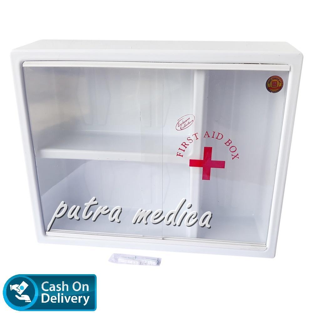 Putra Medica Maspion Kotak Obat P3K Dinding MK-11 / First Aid Box