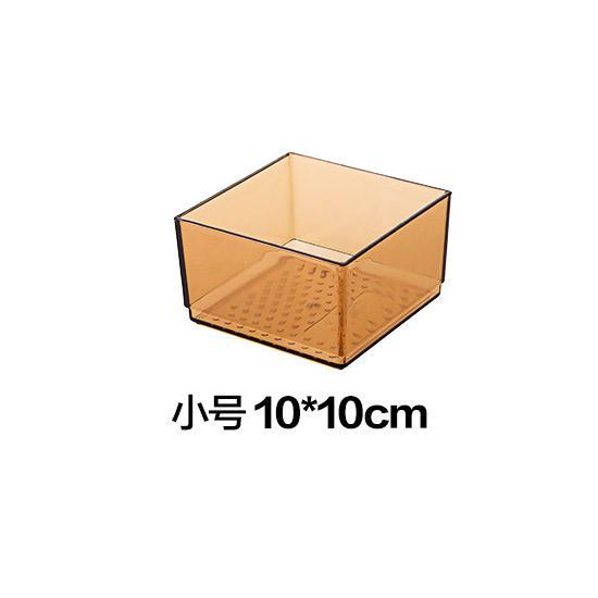 Kotak Penyimpanan Laci Kotak Kecil Plastik Atas Meja Kosmetik