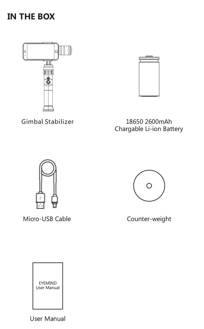 Fitur Phone Gimbal Gopros Camera Shakeproof 3 Axis Handheld Moza Mini Mi Smartphone Stabilizer Garansi Resmi