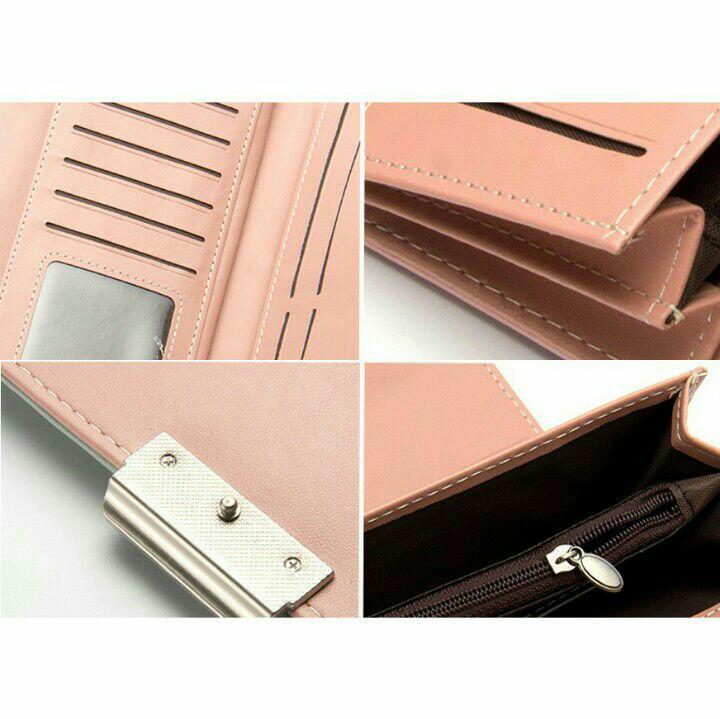 Detail Gambar Vei Store - Dompet Wanita Lipat 3 Model Panjang Forever Young Terbaru