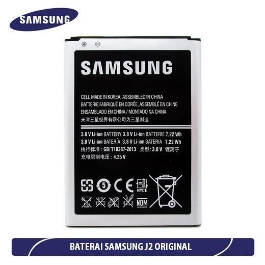 ... Samsung Baterai / Battery Galaxy J2 / J200 Original - Kapasitas 2000mAh + Gratis Holder Gurita ...