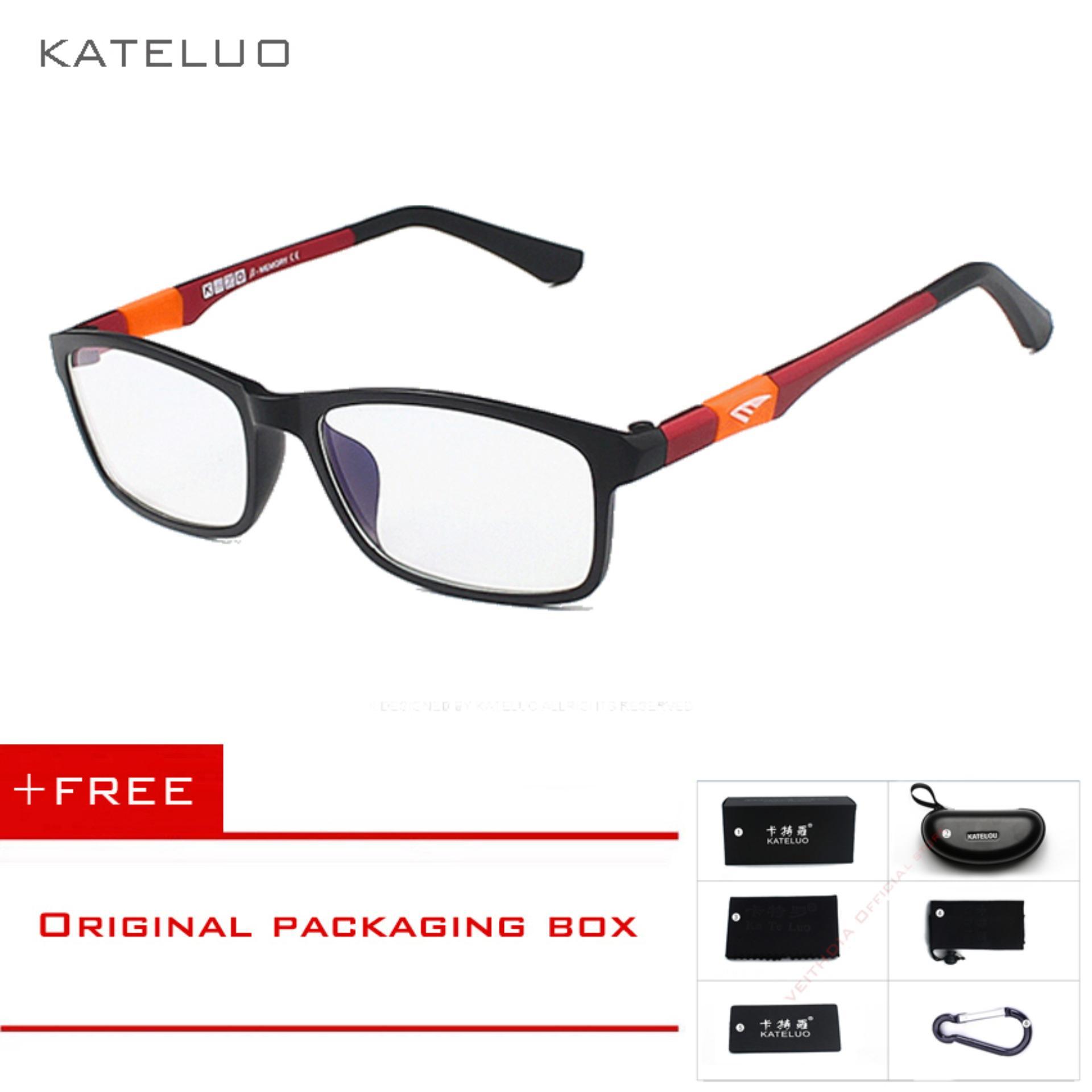 [INTERNATIONAL] KATELUO Baru Kacamata Baca Pria Wanita Komputer UVGlasses Kelelahan Radiasi Kacamata Miopia Bingkai