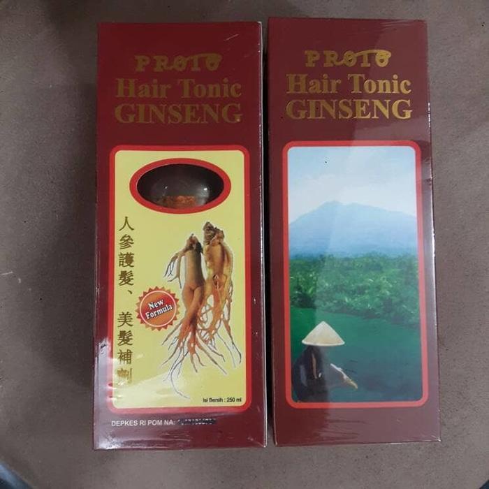 PROMO PROTO HAIR TONIC GINSENG TERLARIS