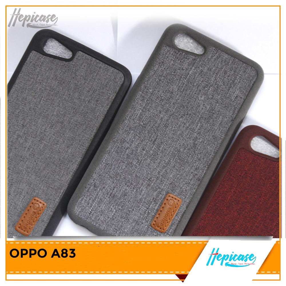 Detail Gambar NEW DENIM CASE OPPO A83 Terbaru