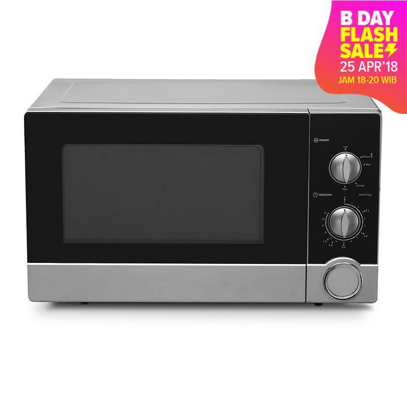 Sharp Microwave R-21D0(S)IN -Hitam/Silver