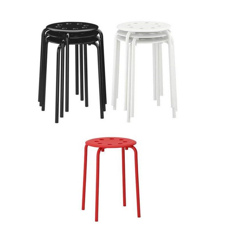 [S871] IKEA Marius Stool - Kursi Meja Makan Rumah Minimalis - Bangku Bakso Tamu Kafe Restoran