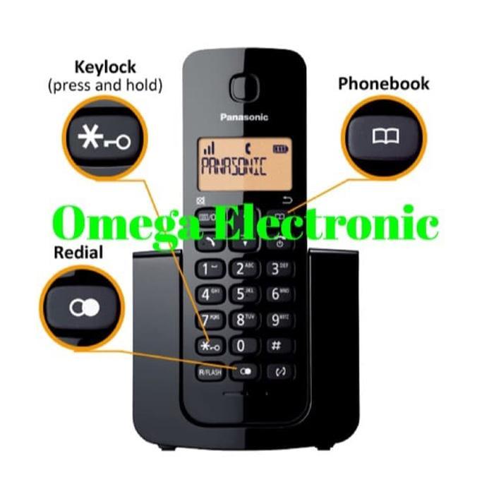 Best Seller RESMI Panasonic Telephone KX-TGB110 -