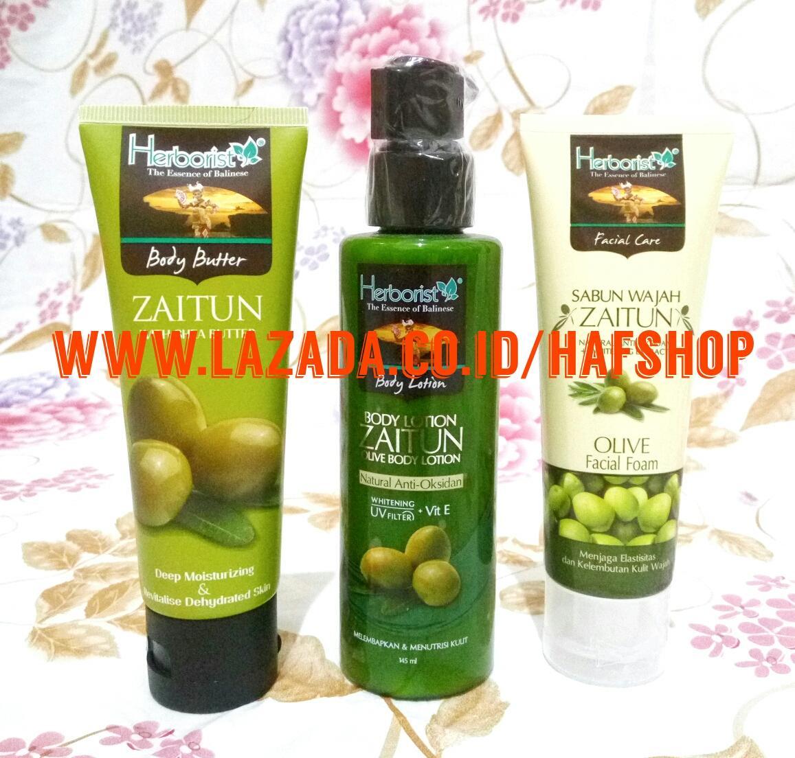 Kehebatan Herborist Facial Foam Zaitun 80gr Dan Harga Update Minyak 150ml Paket 3 Bl Bb