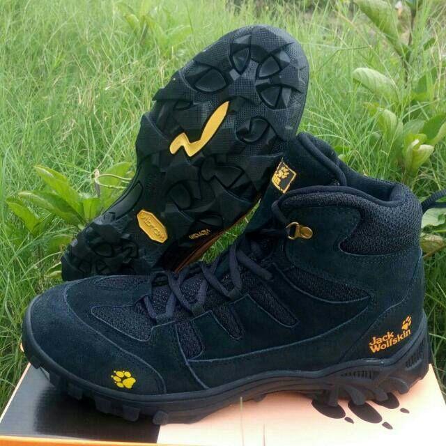 harga Sepatu gunung outdoor JACK WOLFSKIN WATERPROFF kulit asli Lazada.co.id