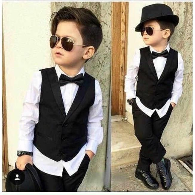 Setelan Vest Anak / Jas Tuxedo Anak Laki 8 Tahun - O74eyo