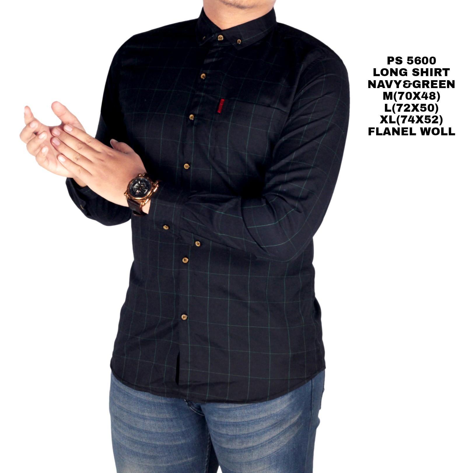 Kemeja Lengan Panjang Pria Batik Songket Navy Daftar Harga Terkini Flanel Model Slimfit Modern Dark Arthur Bandingkan Toko Bsg Fashion1