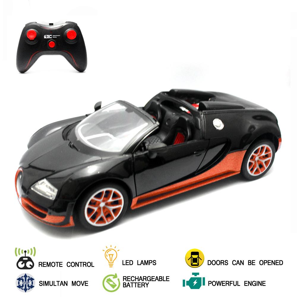 Mainan Mobil Remote Control RC Turbo Car