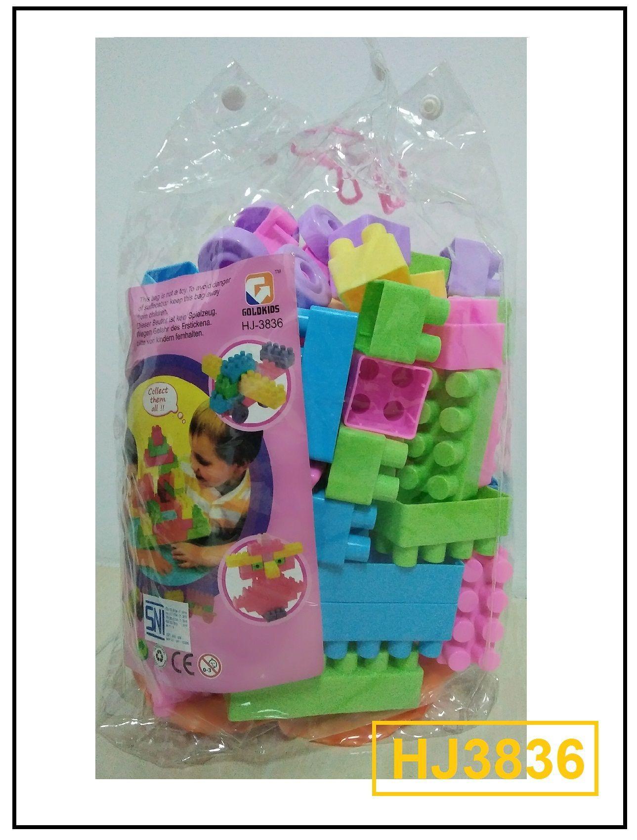 Jual Happy Kids126pcs Balok Murah Garansi Dan Berkualitas Id Store Block Time Bentuk Tas Punggung Rp 90000