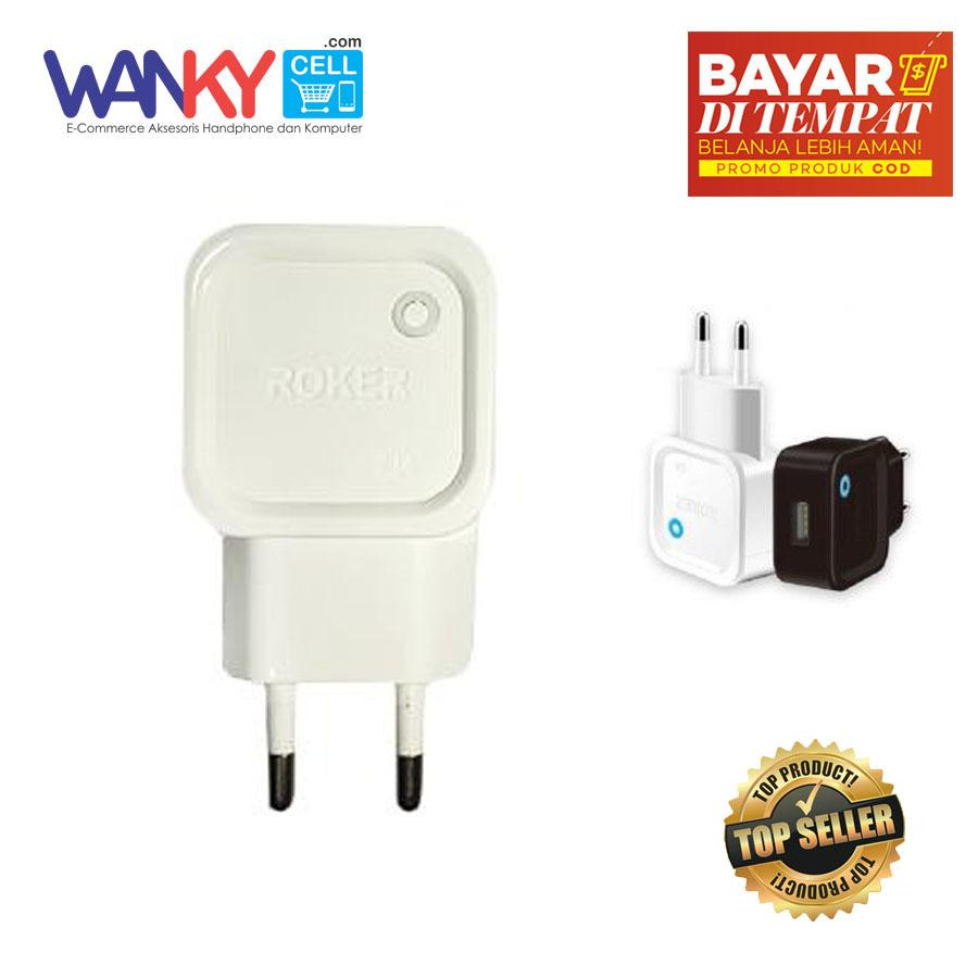 Buy Sell Cheapest Roker Goblin Charger Best Quality Product Deals Power Charge 21a 3000mah Hitam Travel Rk C01 With Kabel Data Fast Charging Micro Android